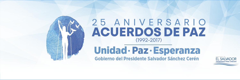 25 ANIVERSARIO ACUERDOS DE PAZ