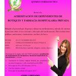 Acreditación de dependientes de botiquín y farmacia hospitalaria