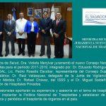 Imagen - Juramentan a nuevo Consejo Nacional de Trasplante
