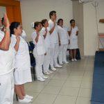 Imagen - JVPE juramenta a nuevos profesionales en Enfermería