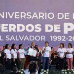 Imagen - Presidente celebra junto al pueblo salvadoreño 27 años de la firma de los Acuerdos de Paz