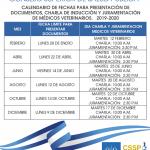 Imagen - Calendarización de charlas y juramentación de JVPMV 2019